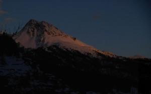 Tramonto sul Tantané  - Foto di Gian Mario Navillod.