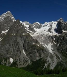 Il ghiacciaio del Frébouge - Foto di Gian Mario Navillod.