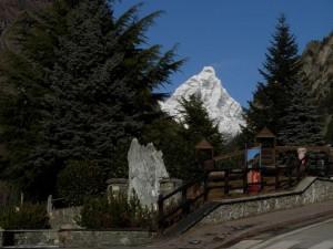 Il Monte Cervino visto da Antey - Foto di Gian Mario Navillod.