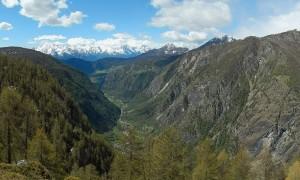 Belvedere sulla Valtournenche a Chamois - Foto di Gian Mario Navillod.