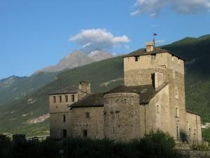 Castello Sarriod de la Tour a Saint-Pierre - Foto di Gian Mario Navillod.