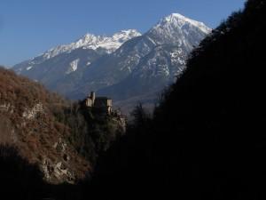 Castello di Nus - Foto di Gian Mario Navillod.