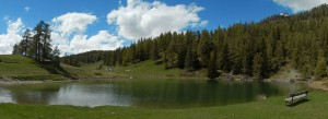 Lago Croux a La Magdeleine - Foto di Gian Mario Navillod.