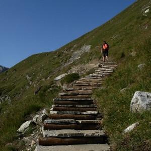 Sentiero per il Lago Goletta - Foto di Gian Mario Navillod.