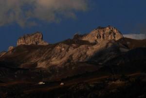 Tramonto sulle Cime Bianche dal Belvedere - Foto di Gian Mario Navillod.