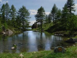 I laghi effimeri di Cortina - Foto di Gian Mario Navillod.
