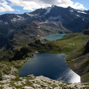 Panorama from Nivolet's pass - Picture by Gian Mario Navillod.