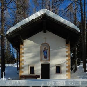 Cappella della Trinità a Chamois - Foto di Gian Mario Navillod.