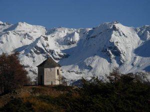 La misteriosa cappella di Gilliarey - Foto di Gian Mario Navillod.