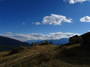 Tramonto a Gilliarey, un luogo magico - Foto di Gian Mario Navillod.