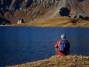Santuario e Lago Miserin - Foto di Gian Mario Navillod.