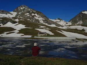 Il lago Miserin a fine giugno 2019 - Foto di Gian Mario Navillod.