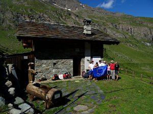 Il bivacco Borroz-Rotary di Fénis - Foto di Gian Mario Navillod.