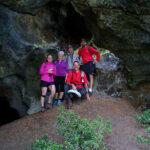Interno della grotta delle tre bocche in Valmeriana - Foto di Gian Mario Navillod