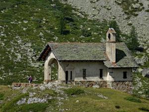 Cappella di Cignana - Foto di Gian Mario Navillod.