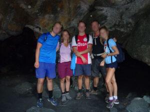 Interno della grotta alta della Valmeriana - Foto di Gian Mario Navillod